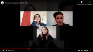 video du studio 143 à propos de covid-19